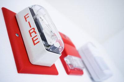 Fire alarm, and smoke carbon monoxide detectors